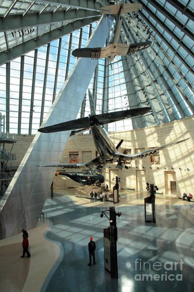 Museum Wall Art - Photograph - Corsairs Fly Again At The Marine Corps Museum by William Kuta