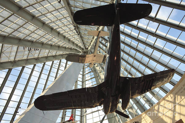 Museum Wall Art - Photograph - Corsairs In The National Marine Corps Museum In Triangle Virginia by William Kuta