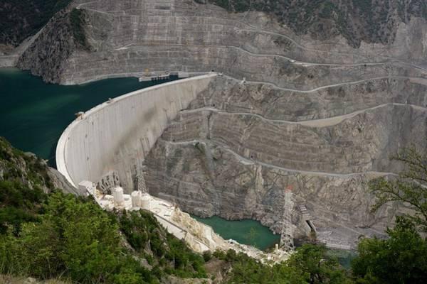 Wall Art - Photograph - Coruh River Dam Construction by Bob Gibbons