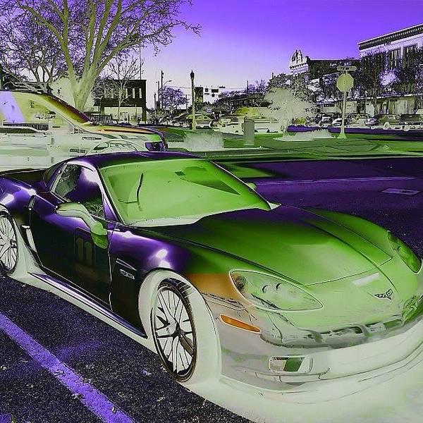 Chevrolet Corvette Photograph - Corvette - Georgetown, Texas: by Jimmy Aldridge