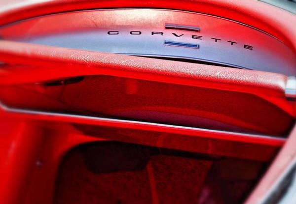 Photograph - Corvette Dash - Mike Hope by Michael Hope
