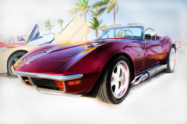 Photograph - Chevrolet Corvette Series 02 by Carlos Diaz