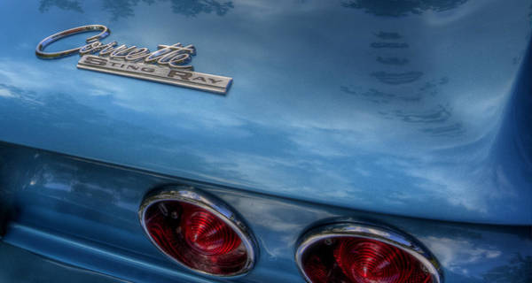 Photograph - Corvette Sting Ray by David Dufresne