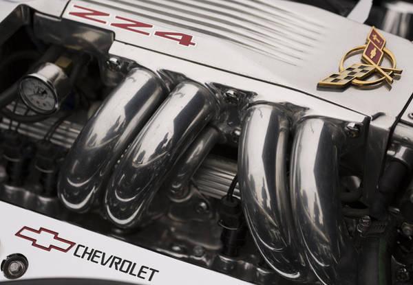 Photograph - Corvette Zz4 Pristine Power by Scott Campbell