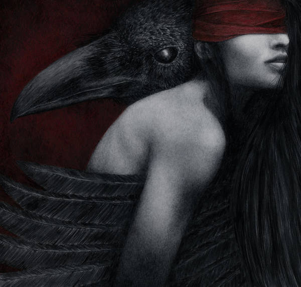 Wall Art - Painting - Corvidae by Pat Erickson