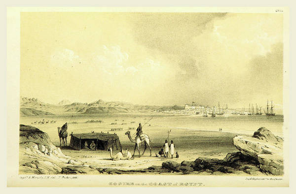 Wall Art - Drawing - Cosire Egypt, During The Years 1835, 1836 by Litz Collection