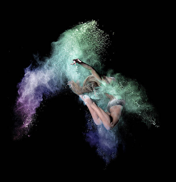 Wall Art - Photograph - Cosmic Dancer by Pauline Pentony Ma