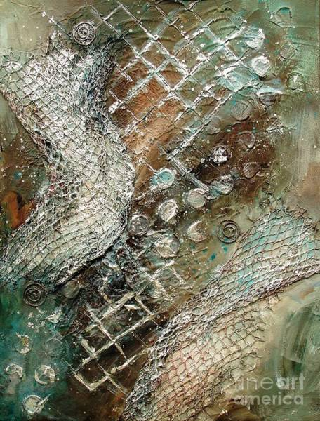 Painting - Silvered Salmon by Phyllis Howard