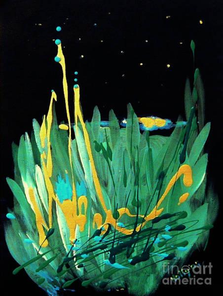 Cosmic Island Art Print