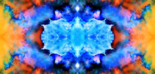 Wall Art - Photograph - Cosmic Kaleidoscope 1 by Jennifer Rondinelli Reilly - Fine Art Photography