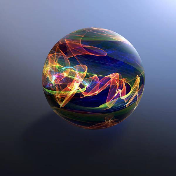 Digital Art - Cosmic Marble by Rick Wicker