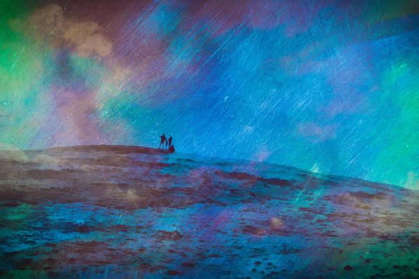 Digital Art - Cosmic Sky Gazing Art by Priya Ghose