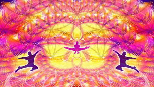 Digital Art - Cosmic Spiral Ascension 55 by Derek Gedney