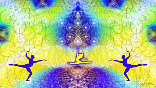 Digital Art - Cosmic Spiral Ascension 67 by Derek Gedney