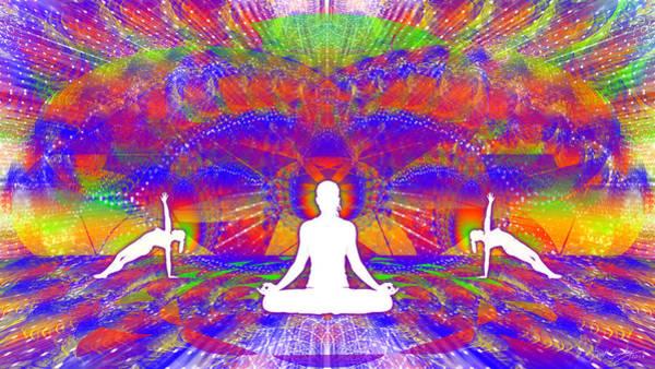 Digital Art - Cosmic Spiral Ascension 74 by Derek Gedney