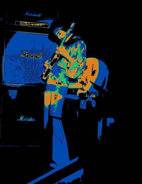 Photograph - Cosmic Tones From Randy Hansen 1978 by Ben Upham