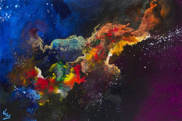 Wall Art - Painting - Cosmic Voyage #203 by Jonas Gerard