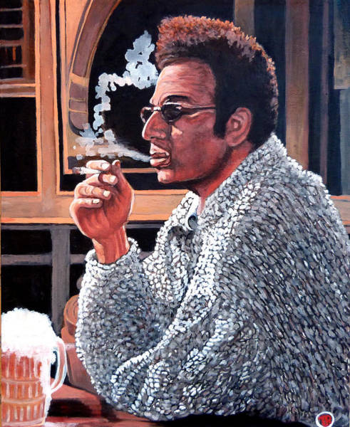 Roderick Painting - Cosmo Kramer by Tom Roderick