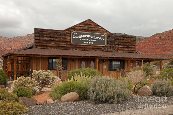 Photograph - Cosmopolitan Restaurant by Fred Stearns