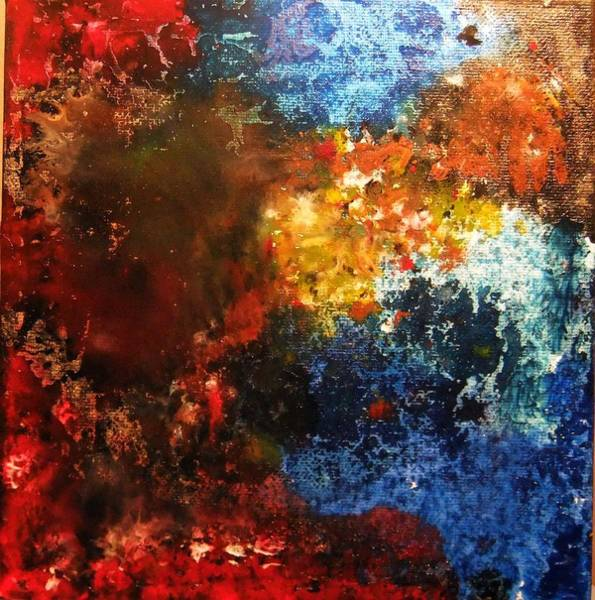 Deep Space Mixed Media - Cosmos 2 by Nicole Henne