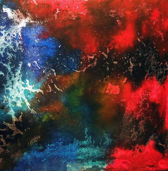 Deep Space Mixed Media - Cosmos 3 by Nicole Henne