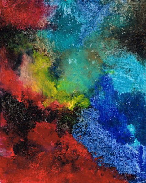 Deep Space Mixed Media - Cosmos by Nicole Henne