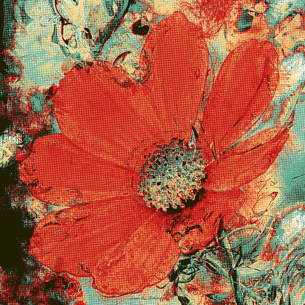 Painting - Cosmos Flower by Susan Schroeder