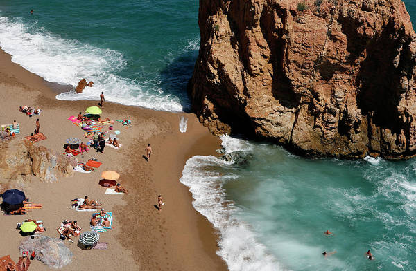 Above And Below Wall Art - Photograph - Costa Brava by Lucas Vallecillos