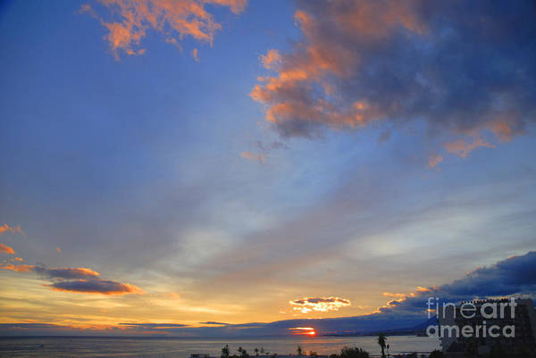 Photograph - Costa Del Sol Sunset by Brenda Kean