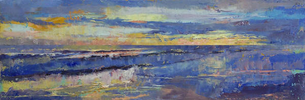 Costa Rica Wall Art - Painting - Costa Rica Sunset by Michael Creese