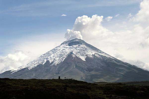 Active Volcano Photograph - Cotopaxi Volcano Erupting by Sinclair Stammers/science Photo Library