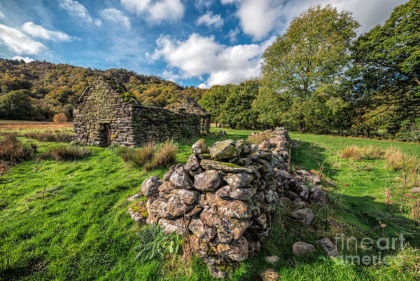 Photograph - Cottage Ruin by Adrian Evans