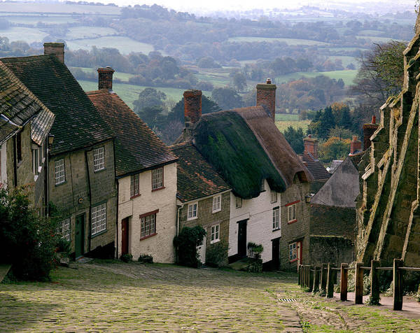 English Countryside Photograph - Cottages by Andy Williams/science Photo Library