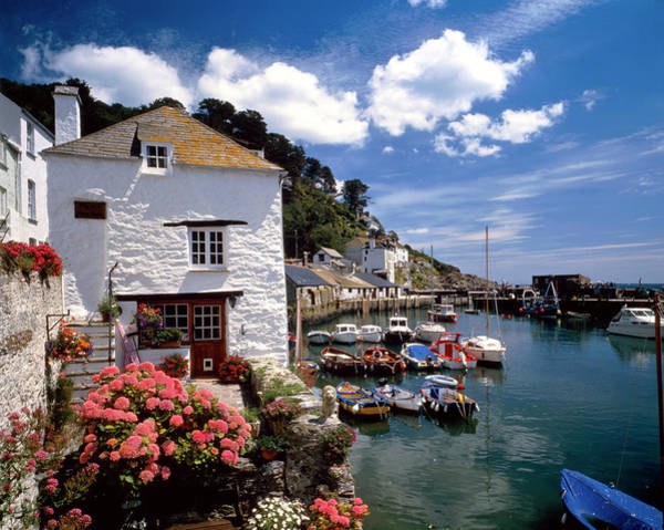 Wall Art - Photograph - Cottages By A Harbour by Andy Williams/science Photo Library