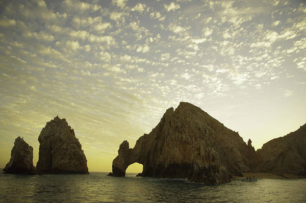 Cabo San Lucas Arch Wall Art - Photograph - Cotton Sky Over Cabo's Famous Arch by Camilla Fuchs