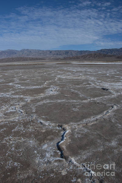 Furnace Creek Photograph - Cottonball Basin At Death Valley by Juli Scalzi