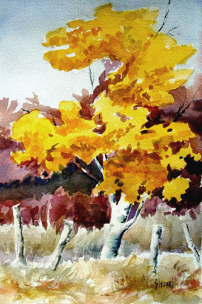 Painting - Cottonwood by Sam Sidders