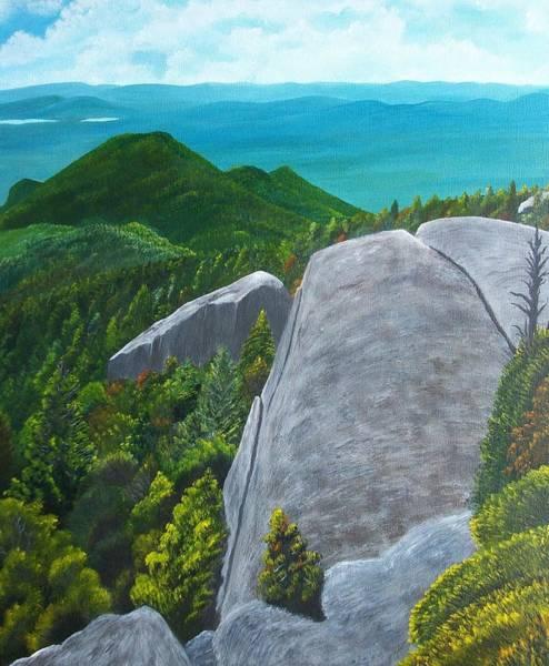 Adirondack Mountains Painting - Couchsachraga by Gary Adams
