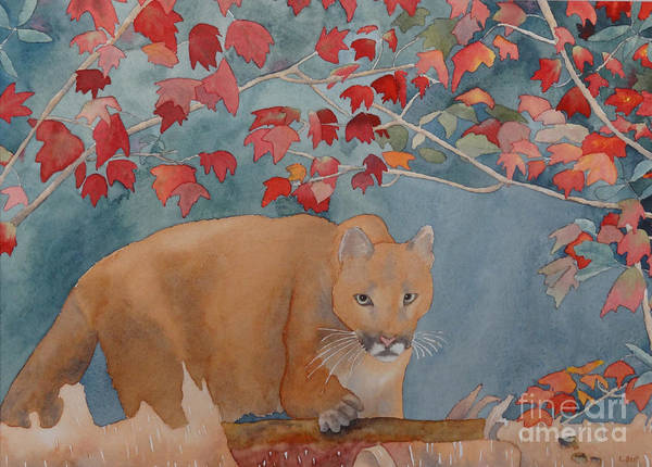 Painting - Cougar by Laurel Best