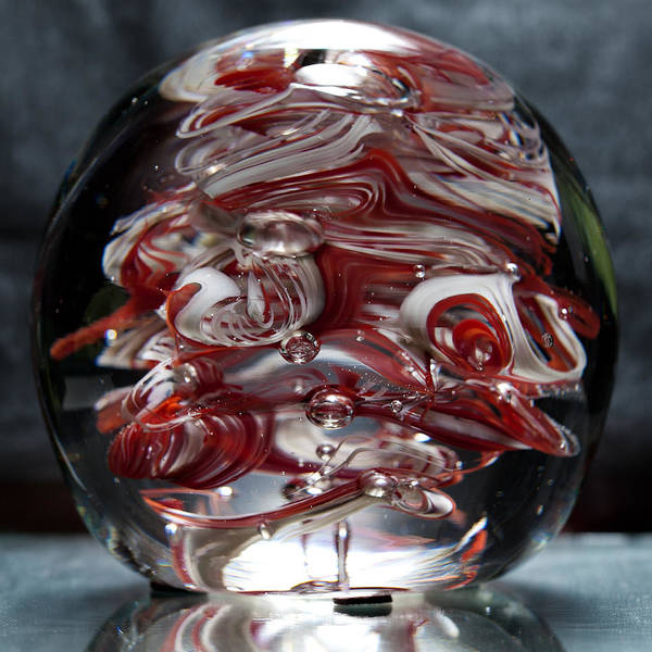 Sculpture - Cougar Spirit Glass by David Patterson
