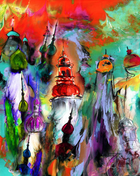 Russian Impressionism Wall Art - Painting - Could Be Saint Petersburg by Miki De Goodaboom
