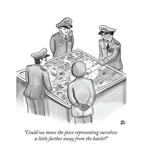 Strategy Drawing - Could We Move The Piece Representing Ourselves by Paul Noth