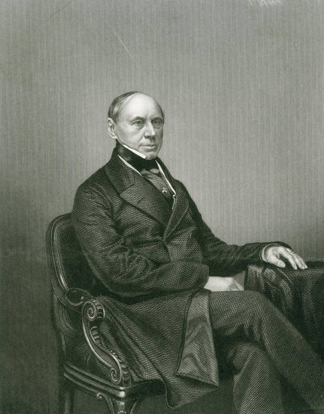 Wall Art - Drawing - Count Philipp Brunnow  Russian Diplomat by Mary Evans Picture Library