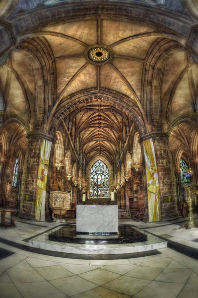 Fisheye Photograph - Count Your Blessings by Evelina Kremsdorf