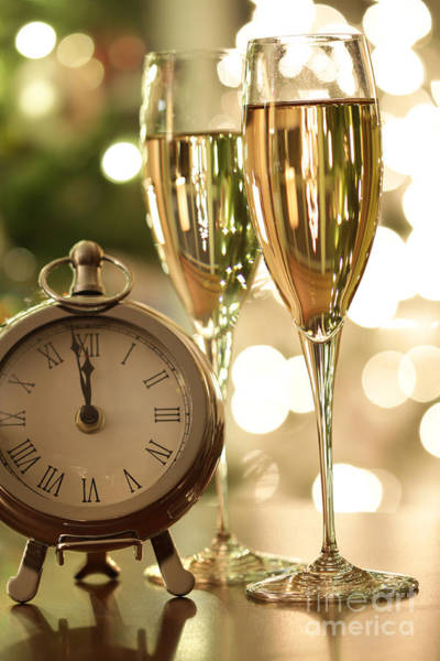 Photograph - Countdown To Celebrations With Champagne by Sandra Cunningham
