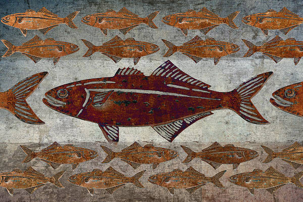 Wall Art - Photograph - Counting Fish by Carol Leigh