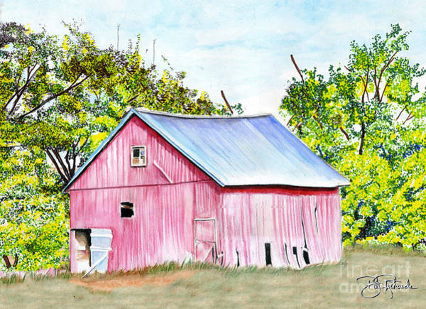 Country Barn Art Print