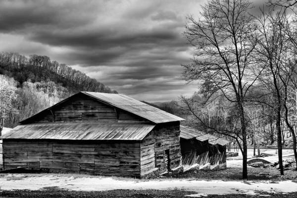 Photograph - Country Barn  by Carol Montoya
