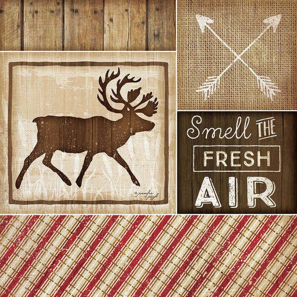 Cabin Wall Art - Painting - Country Cabin I by Jennifer Pugh