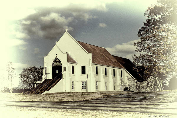 Photograph - Country Church by Bonnie Willis